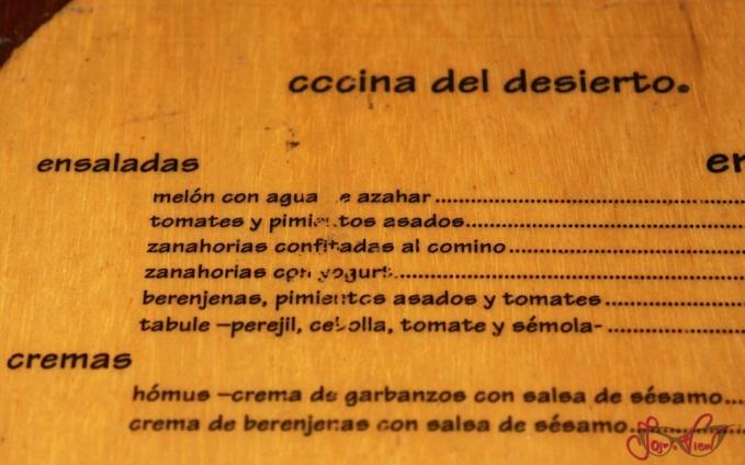 Cocina del desierto en madrid for La cocina del desierto madrid